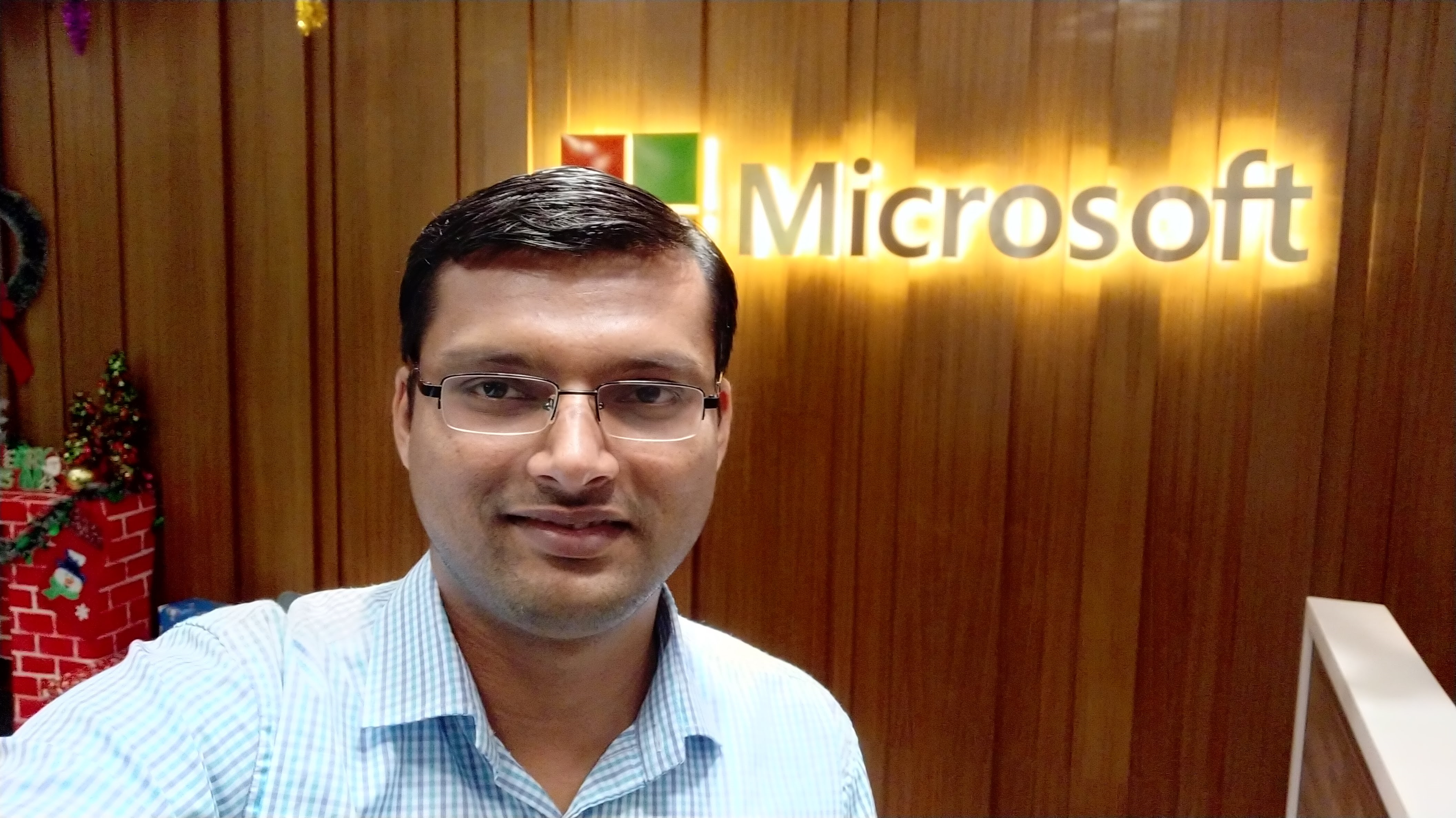 Nitin Sawant at Microsoft Kuala Lumpur